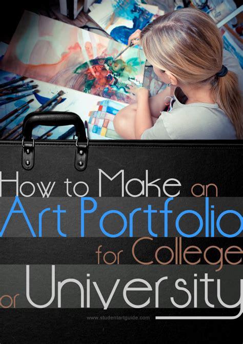 awesome art portfolio  college  university