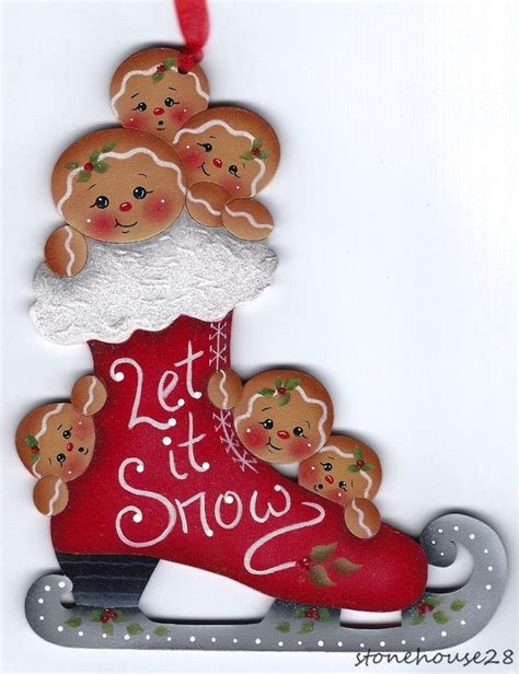 25 unique gingerbread ornaments ideas on pinterest