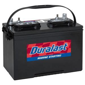 Duralast/Marine battery   12 months free replacement (27DP