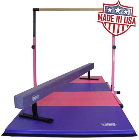 gymnastics equipment horizontal bar 8ft 12in high