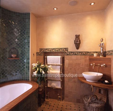how to spice up your bathroom d cor with framed wall art moroccan decorating ideas spice up your bathroom moroccan