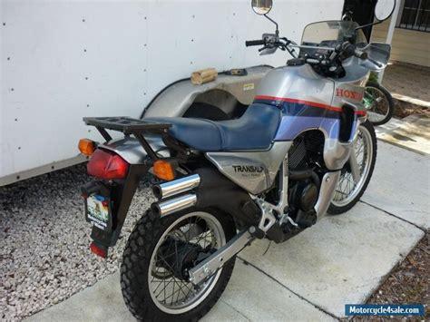honda 600 for sale 1989 honda xl 600 v transalp for sale in canada