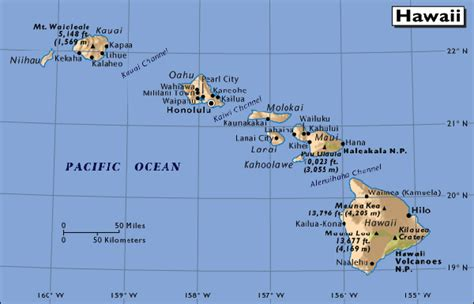 map of hawaii islands map of hawaii free printable maps