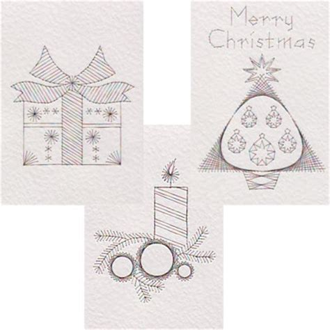 christmas pattern lines form a lines prick and stitch is my craft page 2
