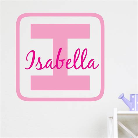 personalised wall sticker personalised building block wall sticker wallstickers co uk