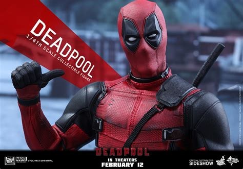 deadpool toys marvel deadpool sixth scale figure by toys sideshow collectibles