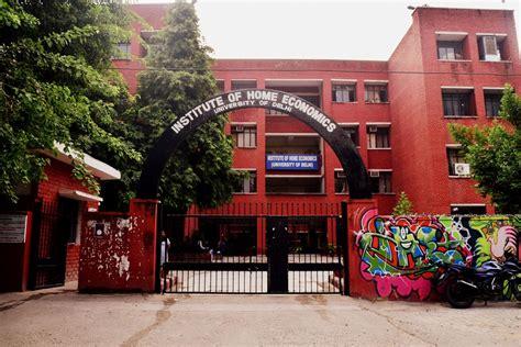 Delhi School Of Economics Mba Cut institute of home economics cut 2017 ihe cut