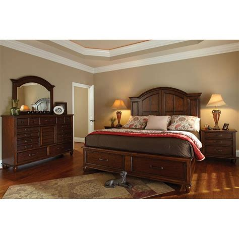 carolina preserves 6 cal king bedroom set