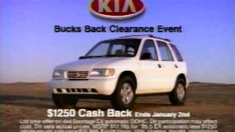 Kia Sportage Advert 187 1995 Kia Sportage Commercial