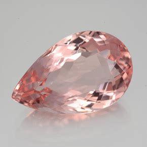 100 Pink Sapphire 1 32 Ct 8 7 carat salmon pink morganite gem from afghanistan