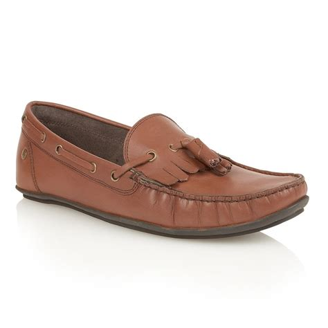 frank wright loafers buy s nevis ii brown leather loafer