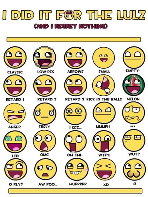 Types Of Meme Faces - my favourite game awesome meme en sus distintas facetas