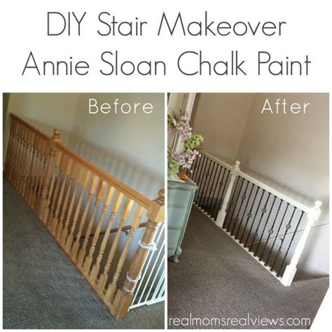 diy chalk paint españa diy stair makeover with sloan chalk paint in