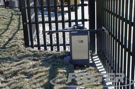 swing gate operators foster fence photo gallery foster fence ltd