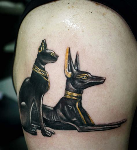 dog and cat tattoo anubis tattoos and designs page 51