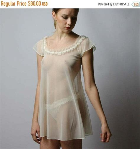 images of women in sheer nightgowns womens sheer lingerie set in mesh with ruffled neckline