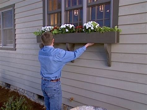 how to build a window box planter how to build a window box planter how tos diy