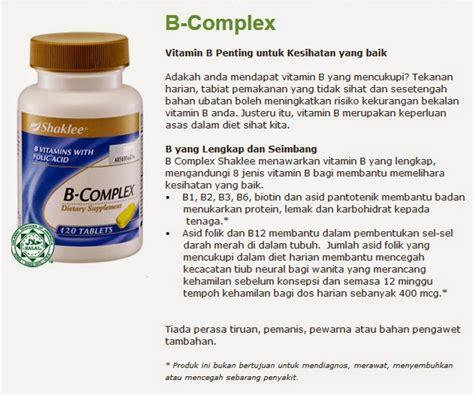 Vitamin B Complex Shaklee nota lengkap pengedar shaklee b complex shaklee mykeledek