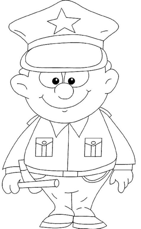 car coloring pages preschool 1000 ideas about police crafts on pinterest police officer