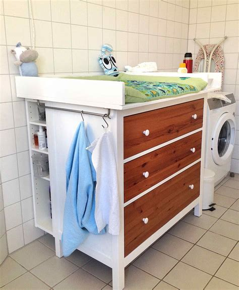 Wickeltisch Hemnes Diaper Changing Table Ikea Hackers Baby Changing Table Ikea