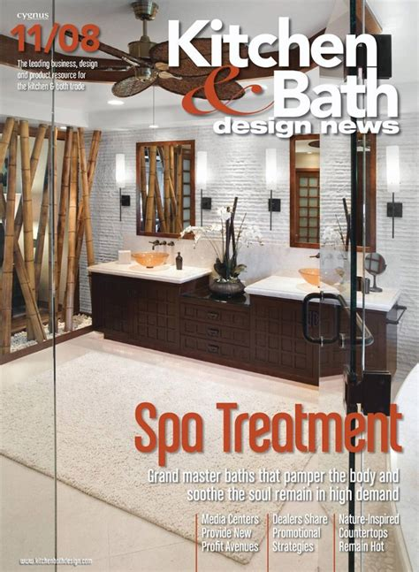 kitchen and bath design magazine free kitchen bath design news magazine the green head