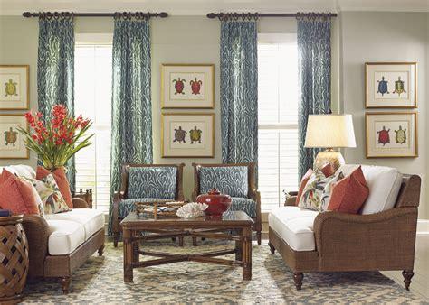 tommy bahama living room bali hai capri square cocktail table lexington home brands