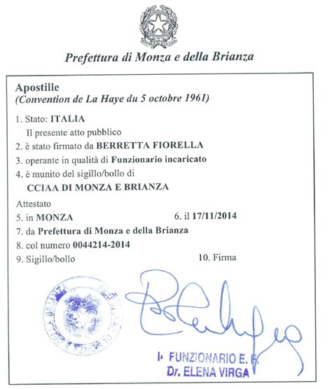 consolato francese genova how to get an apostille in italy italian certificates