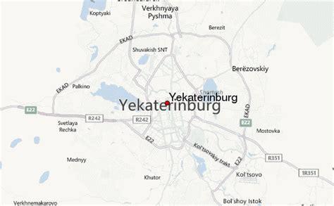 yekaterinburg map yekaterinburg location guide
