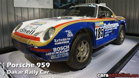 porsche 959 rally car up 1986 porsche 959 dakar rally car