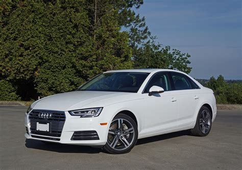 Audi A4 2 0 Review by 2017 Audi A4 2 0 Tfsi Quattro Road Test Review The Car