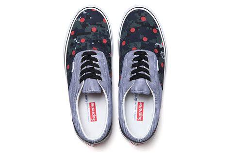 supreme clothing shoes vans supreme shoes collaboration