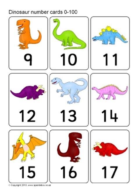 free printable dinosaur number cards numbers on dinosaurs posters flash cards printables