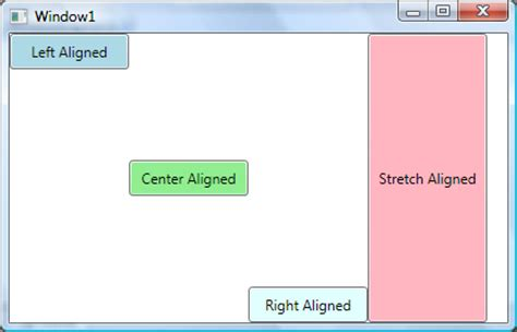 layout manager vertical alignment wpf layout horizontal and vertical alignment