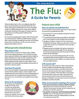 the parent s guide to schools child care seasonal influenza flu cdc