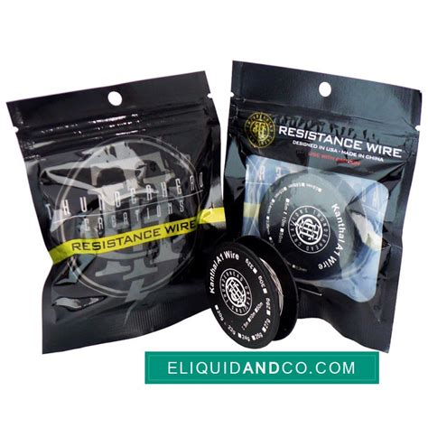 Promo Kanthal Wire kanthal a1 wire par thunderhead eliquidandco