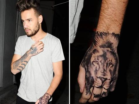 one direction s liam payne got a fake hand tattoo metro news