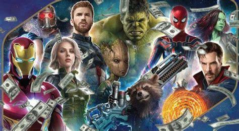 film marvel dari awal sai akhir perkiraan pendapatan avengers infinity war di akhir pekan