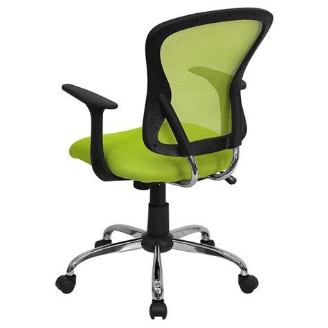 Swivel Task Chair Mid Back Green Mesh Dcg Stores Swivel Task Chair