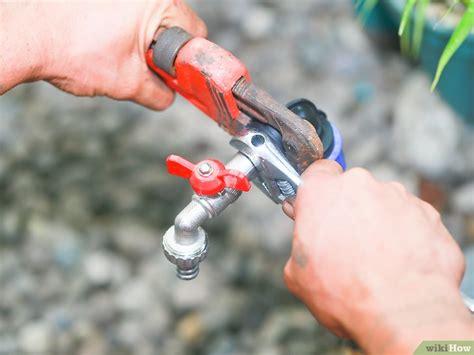 sostituire un rubinetto come sostituire un rubinetto da esterno 14 passaggi