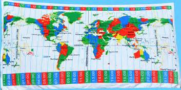 World Timings Sunclock From Worldtimezone 24 Hour Format Shows