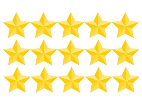 printable yellow stars to cut out golden stars award template free printable papercraft