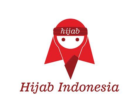membuat logo hijab hijab indonesia logo on behance
