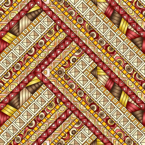 ethnic pattern art ethnic pattern styles art background vector 02 vector