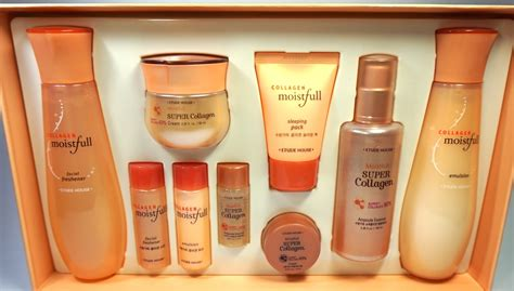 Etude House Moistfull Collagen Essence etude house collagen moistfull skin care line review the