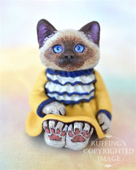 Dress Laurie Cat laurie miniature ragdoll cat doll handmade original