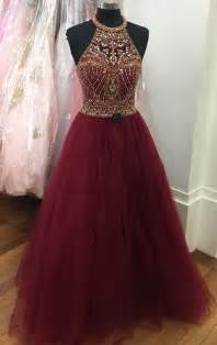 burgundy color prom dress 25 best burgundy prom dresses ideas on prom
