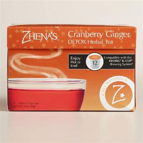 Detox Tea World Market by Zhena S Daily Detox Tea Single Serve Cups World Market