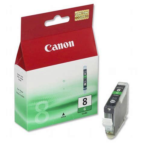 G Toner original canon cli 8g green ink cartridge 0627b001 ink n toner uk compatible premium