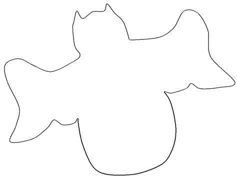 outline template for pages bat outline template az coloring pages