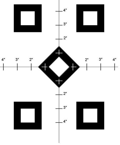 printable precision targets free paper shooting targets precision shooting